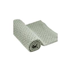 Kinderdecke Stokke® Decke aus Merinowolle, 80x80 cm, Pink, Stokke grün