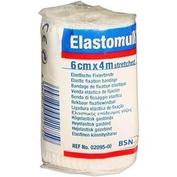 ELASTOMULL 6 cmx4 m elast.Fixierb.2095 1 St
