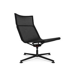 Sessel D1 Low Wagner schwarz, Designer Stefan Diez, 85–91x88x88 cm
