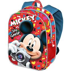 Kinderrucksack 3D Mickey rot
