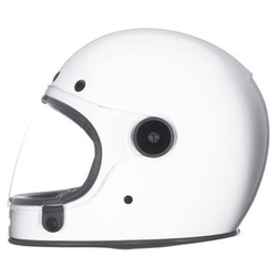 Bell Bullitt solid white weiß XS