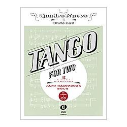 Tango For Two  for Alto Saxophone & Piano  Alto Saxophone Solo  w. Audio-CD. Chris Gall   Quadro Nuevo  - Buch