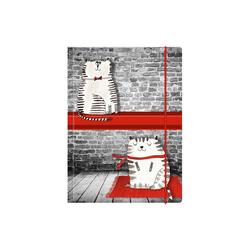 "Sammelmappe ""Cats"" A4"