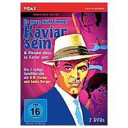 Es muß nicht immer Kaviar sein & Diesmal muss es Kaviar sein - DVD  Filme