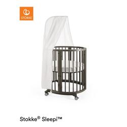 STOKKE® Sleepi™ Mini Hazy Grey inkl. Himmel und Matratze