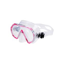 AQUAZON Taucherbrille AQUAZON BEACH Schnorchelbrille, Schwimmbrille, Taucherbrille für Kinder und Erwachsene rosa