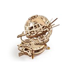 UGEARS 3D-Puzzle UGEARS Holz 3D-Puzzle Modellbausatz GLOBUS, Puzzleteile