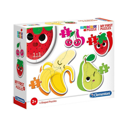 Clementoni® Puzzle My frist Puzzles 2/3/4/5 Teile - Früchte, Puzzleteile