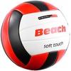PEARL sports Beachvolleyball, griffige Soft-Touch-Oberfläche, Kunstleder, 20,5 cm Ø