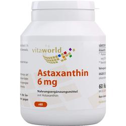 ASTAXANTHIN 6 mg Kapseln 60 St.
