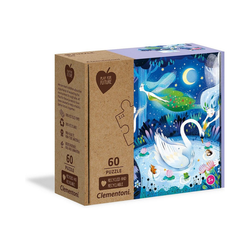 Clementoni® Puzzle Puzzle 60 Teile Play for Future - Enchanted Night, Puzzleteile