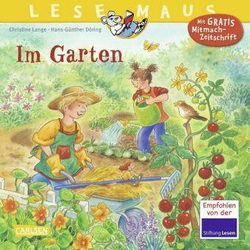 LESEMAUS 38: Im Garten