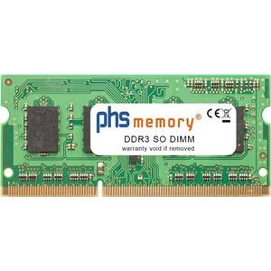 PHS-MEMORY 4GB RAM Speicher für Packard Bell EasyNote TS44-HR-079GE (NX.BZ3EG.006) DDR3 SO DIMM 1333