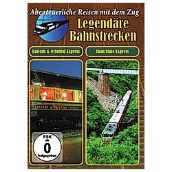 Legendäre Bahnstrecken - Eastern & Oriental Express / Shane State Express - DVD  Filme