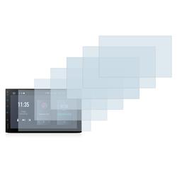 Savvies Schutzfolie für XTrons TQ100, (6 Stück), Folie Schutzfolie klar