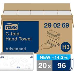 TORK 290269 Papierhandtücher Weiß 20 St./Pack. 20St.