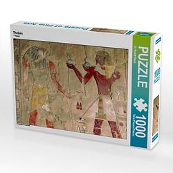 Theben Lege-Größe 64 x 48 cm Foto-Puzzle Bild von Rudolf Blank Puzzle