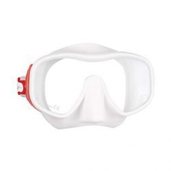 Mares Juno - Maske - rot/weiß