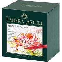 Faber-Castell Pitt Artist Pen Brush Tuschestift 60 St.