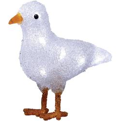 Konstsmide 6179-203 Acryl-Figur Möwe LED Weiß