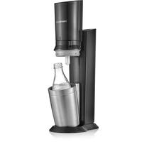 Sodastream Crystal 2.0 titan + Glaskaraffe