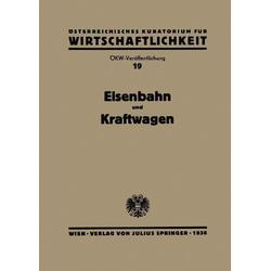 Eisenbahn und Kraftwagen: eBook von