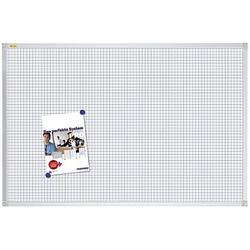 FRANKEN Whiteboard 90,0 x 60,0 cm mit Raster 1,0 x 1,0