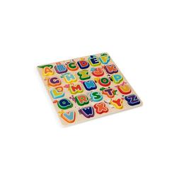 wuuhoo Puzzle ABC Puzzle aus Holz für Babys und kleine Kinder, Puzzleteile