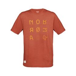 Norrona - Svalbard Wool T- Shi - T-Shirts - Größe: S