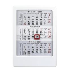 3-Monats-Tischaufsteller weiß 2021