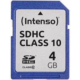 Intenso SDHC 4GB Class 10
