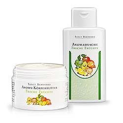 Freche Früchte-Set / Aromadusche + Körperbutter