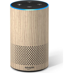 Amazon Echo 2. Gen (Amazon Alexa, IFTTT), Smart Speaker, Braun