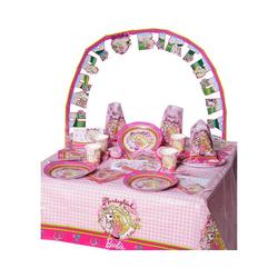 Happy People Kindergeschirr-Set Partyset Barbie, 96-tlg.