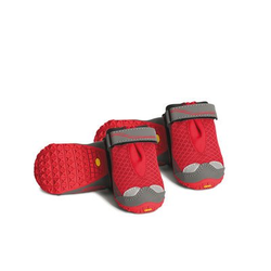 Ruffwear Grip Trex? Hundeschuhe im 4er Pack, 76mm/L, Red Currant - (4er Pack)