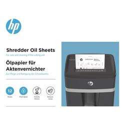 Ölpapier für Aktenvernichter »12 Blatt«, HP