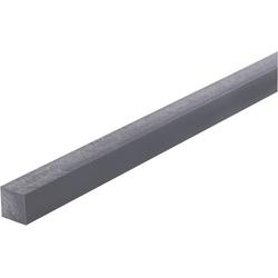 PVC Vierkant Profil (L x B x H) 500 x 15 x 15mm 1St.