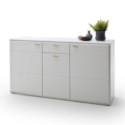 Weißes Sideboard 165 cm breit 3 Türen