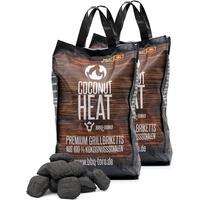 BBQ-Toro Coconut Heat 20 kg Premium Grillbriketts aus 100% | Kokosnuss