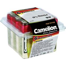 Camelion 6LR61 9V Block-Batterie Alkali-Mangan 700 mAh 9V 6St.