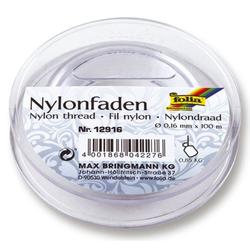 FOLIA 12916   0,16mm Nylonfaden auf Spule 100m