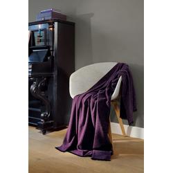 Wohndecke Franse Plaid purple, BIEDERLACK, Decke
