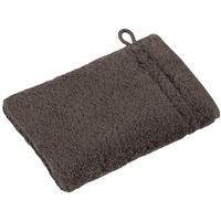 Waschhandschuh 16 x 22 cm slate grey