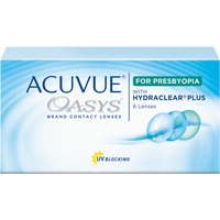 Acuvue Oasys for Presbyopia 6 St. / 8.40 BC / 14.30 DIA / -9.00 DPT / Low ADD