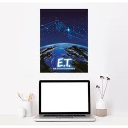 Posterlounge Wandbild, E.T. - Sternenkonstellation 30 cm x 40 cm