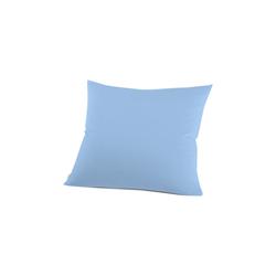 Schlafgut Kissenbezug Mako Jersey in ice, 80 x 80 cm