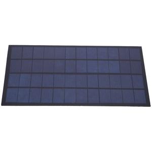 EBTOOLS1 Solarpanel, 12V 7W Epoxid-Polykristallines Solarpanel, einfache Installation, Solarpanel mit hoher Konversionsrate für Solarenergieexperimente