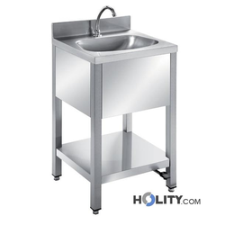 Waschbecken mit Untergestell h31411