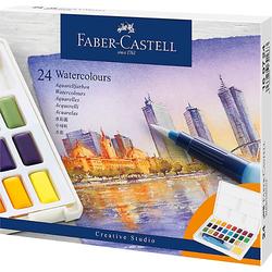 Aquarellfarben, 24 Farben