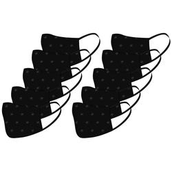 Terrax Workwear Community-Maske TERRAX, Packung, 10-St., schwarz, waschbar